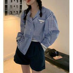 monroll - Plaid Shirt / Shorts