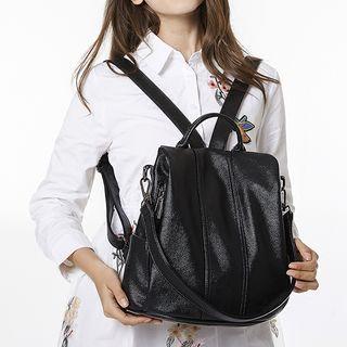AIDO - Genuine Leather Backpack
