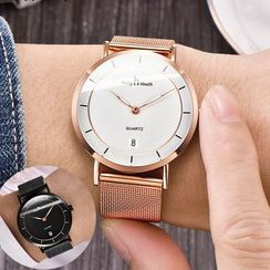 SENDA - Retro Milanese Strap Watch