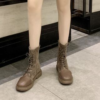 MARTUCCI - Genuine Leather Short Boots