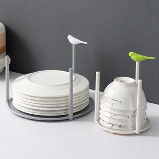 Cutie Pie - Plastic Bird Bowl / Plate Drying Rack