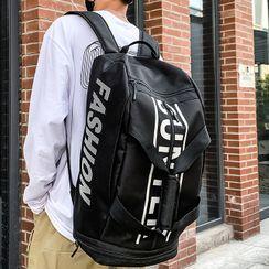 SUNMAN - Lettering Lightweight Backpack