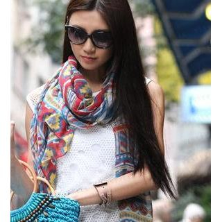 59 Seconds - Patterned Scarf