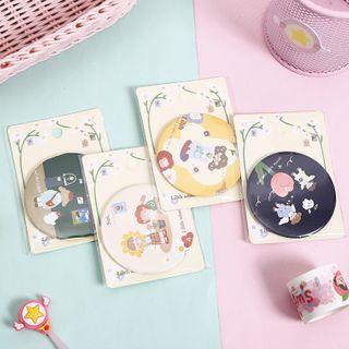 SASHI - Cartoon Print Portable Mirror