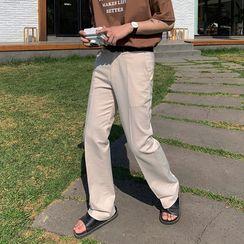 匡億 - 純色直筒褲