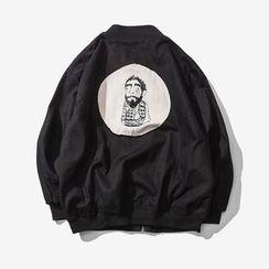 Alvicio - Print Zip Jacket