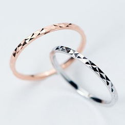 A'ROCH - 925 Sterling Silver Textured Ring