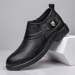 WeWolf - Genuine-Leather Studded Casual Shoes