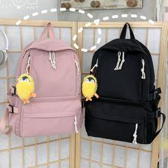 KAMELIS - Print Nylon Zip Backpack