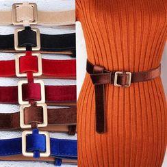 Rofuka - Square Buckle Belt