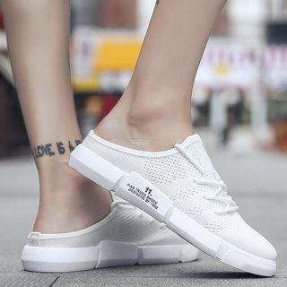 JACIN - Perforated Sneaker Mules