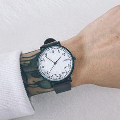 InShop Watches - Maths Print Strap Watch