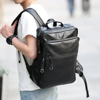 BagBuzz - Faux Leather Backpack