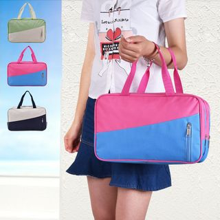 Lezi Bags - 拼色乾濕沙灘袋