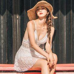 MALILA - Lace Swimsuit / Swim Skirt / Set