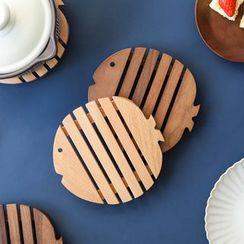 Kawa Simaya - Fish Wooden Heat Resistant Pad