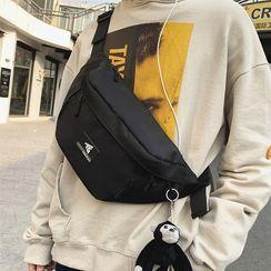 SUNMAN(サンマン) - Nylon Zip Sling Bag