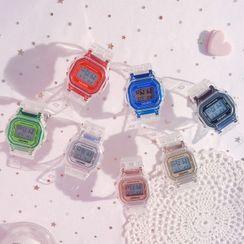 Jikan - Octagon Digital Strap Watch