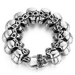 Sigil - Skull Stainless Steel Bracelet