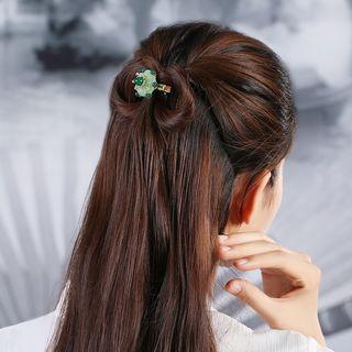 Gangnam - Agate Flower Hair Clip