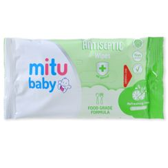 Hapi - Mitu Baby Wipes Antiseptic Wipe Food Grade (10 Wipes)