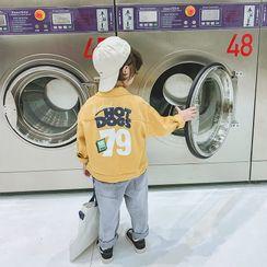 Pinty - 小童字母襯衫外套