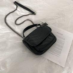 Minafox - Faux Leather Crossbody Bag