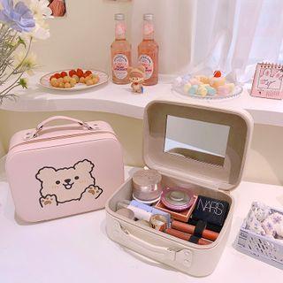 Yuja Girl - 動物印花化妝手提袋