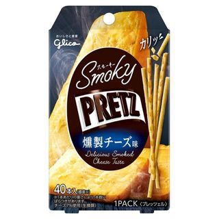 Glico - Pretz Biscuit Sticks Delicious Smoked Cheese Flavor
