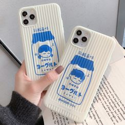 Make Workshop - Couple Matching Drink Print Mobile Case - iPhone 11 Pro Max / 11 Pro / 11 / XS Max / XS / XR / X / 8 / 8 Plus / 7 / 7 Plus / 6s / 6s Plus