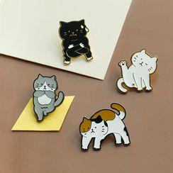 Ballyway - Yoga Cat Brooch (Various Designs)