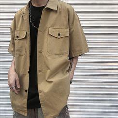 Koiyua - Short-Sleeve Cargo Shirt