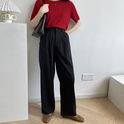 Coolvibe - High-Waist Wide-Leg Pants