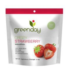 Greenday - Crispy Strawberry 12g