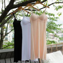 Lemite - Inset Bra-Top Babydoll Dress