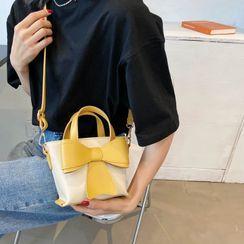 Cipres - Bow Accent Bucket Bag