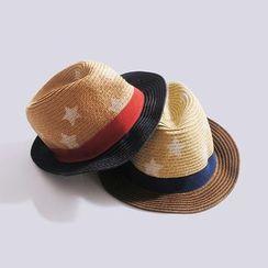 Happy Go Lucky - Kids Straw Hat