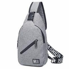 Top Seeka - Lettering Strap Sling Bag