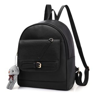 Selinda - Faux Leather Backpack
