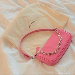Ikebag - Faux Leather Shoulder Bag