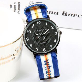 Epoca - Canvas Strap Watch