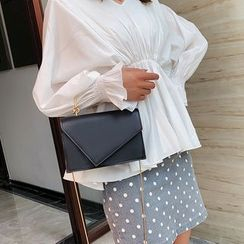 Diamante(ディアマンテ) - Faux Leather Shoulder Bag