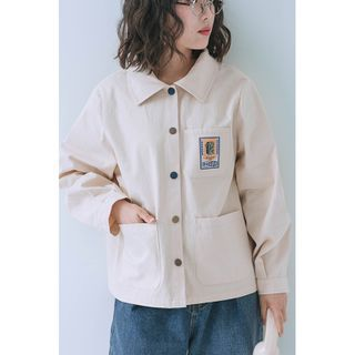 Echo Forest(エコーフォレスト) - Printed Shirt Jacket