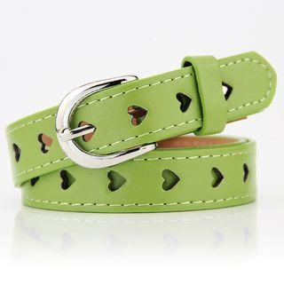 dandali - Heart Faux Leather Belt