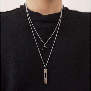 Juanitro - Layered Pendant Necklace