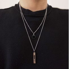 Juanitro - Layered Pendant Necklace