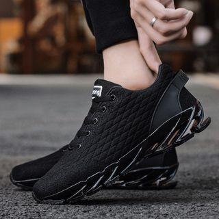 MARTUCCI - Platform Paneled Sneakers
