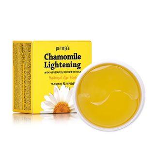 PETITFEE - Chamomile Lightening Hydrogel Eye Mask 60pcs