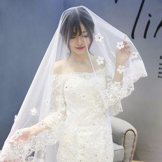 Nymphie - Floral Wedding Veil