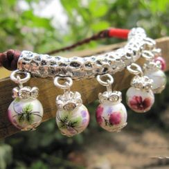 Townlet - 陶瓷饰珠吊坠项链